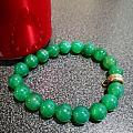 绿玛瑙珠手串