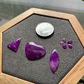 原石出的小精品也是很美的