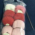 粉色小熊猫🐼毛衣终于织好啦
