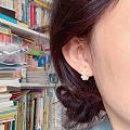 今日新做隐藏式耳夹非常隐形呐