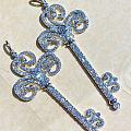 真正的钻石钥匙,铂钌pt950大师傅精工镶嵌
