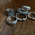 几个银戒指