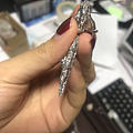 在淘宝一商家布契拉提工艺定制的耳环看着图片我想哭😢