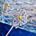 阿斯切黄钻主石钥匙吊坠  爱是妙不可言的奇迹。它如同一把拥有魔法的钥匙,无限...