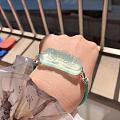 新收的牡丹手牌 挺好看的。就是手绳的尺寸大了,老翻面,早知道报小一点的尺寸 ...