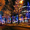 圣诞节,跟我来大阪街头走一走