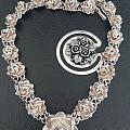 有趣的银子之玫瑰项链
