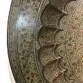 清代 巨版 合金红铜 盘