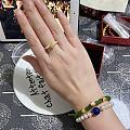 竟然很喜欢小珍珠串的戒指。