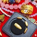 周大福金指甲和饕餮戒指