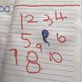 我的小宝贝写哒,在上小班😁