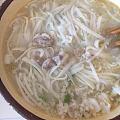 一个月子下来喜欢上了羊肉汤,平时只吃羊肉串,这会真觉得这汤才是最美味的