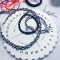 手工编绳和盘编器编绳