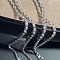 意大利18k钻石链多长多粗比较合适?有没有比较好的粗细比例?另外哪种颜色更百...