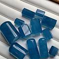 魔鬼蓝海蓝宝,做锁骨链配手链都非常漂亮,也可以雕上专属的小印章~