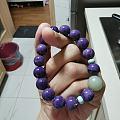 深紫色紫龙晶蛮好看的
