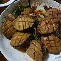 沙茶肉酱红烧鲍鱼