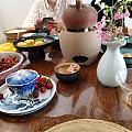 庚子年第一场杯聚,碳火焙冰泉,一粒樱桃一口茶~