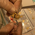 花丝宝石镶嵌小葫芦