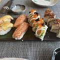 吃完寿司回家!
