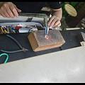南京打金之旅:李师傅锤纹系列—锤纹吊坠