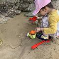 娃说要玩沙子,好的,带她去玩个大的!!