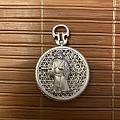 琮方珠玉小A家的鼠年古法纯银吊坠 手感是真的不错,纯银古法里面应该算顶好的了...