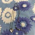 铂金樱花套链