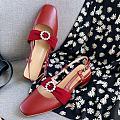 想买个复古小红鞋,亲们帮我看看哪个好看