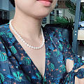 V领带珍珠合适哎