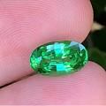 【皇家蓝彩宝】小精品,1.8克拉沙弗莱,超美的嫩绿色