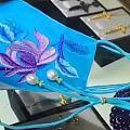 借图:珠宝和口罩结合的创意,人才啊!