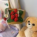 从坛友那里买来的草莓包和大白熊,收到啦,不得不感叹手太巧了