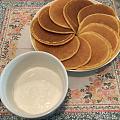 早上做的奶香玉米饼,味道和颜值都在线✌🏻