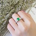 【泰勒彩宝】1.37ct祖母绿新品戒指