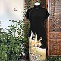 终于收到了定做的旗袍 期待夏日来临