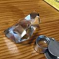天然水晶六方体