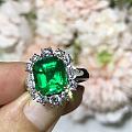 【泰勒彩宝】3.97ct哥伦比亚muzo戒指