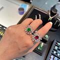 翡翠和红宝石
