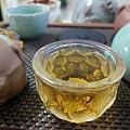 我最喜欢坐着喝喝茶
