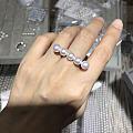 日本akoya海水珍珠戒指