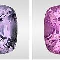 【GRC】低铁高钒缅甸变色蓝宝石