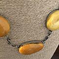 丹麦古董蜜蜡项链