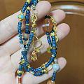 琉璃 老珠 烧蓝 珍珠 足金小配件一下午的成果🙄