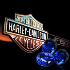 蓝宝石哈雷