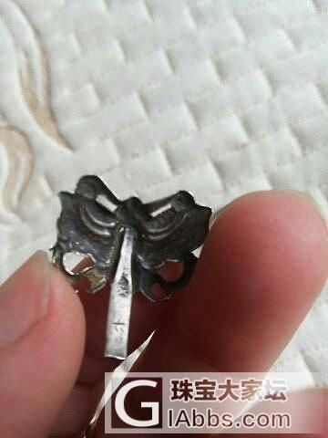我的几个老银残件,收来想diy的,可是又不知做什么了,大家帮看!_老银