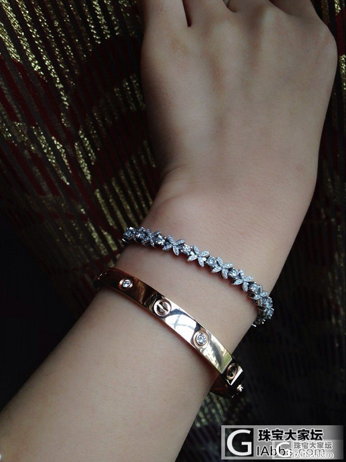 【瑞意邦珠宝】——火热的钻石蝴蝶满钻手链出货欣赏了_瑞意邦珠宝