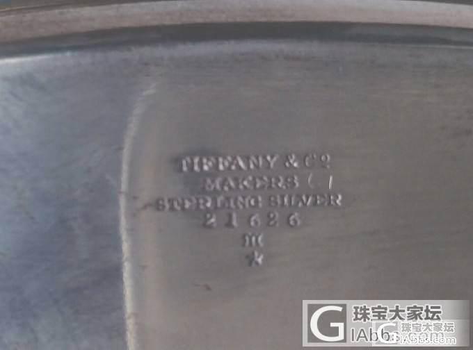 【蒂芙尼】TIFFANY70年前的简单餐具,我挺喜欢的,有闪必回!_西洋银器老银