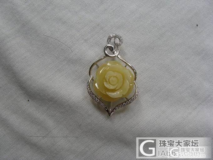 荔湾广场淘的蜜蜡花花和珠珠_蜜蜡
