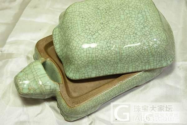收藏的老货龟形砚台_文房